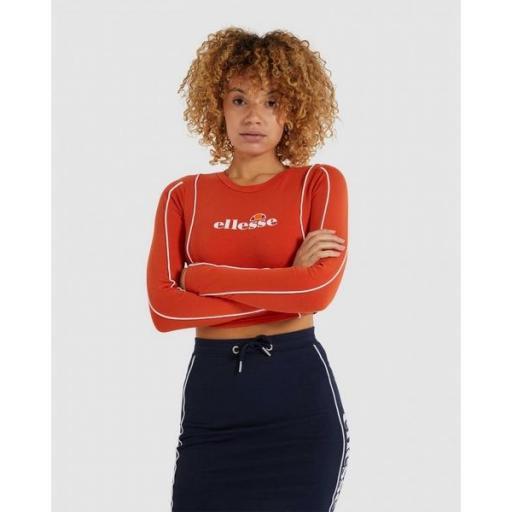ELLESSE Camiseta Russia Tee Dark Orange