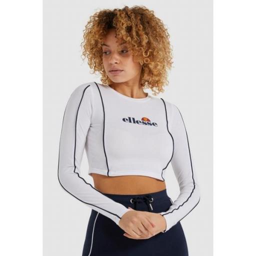 ELLESSE Camiseta Russia Tee White