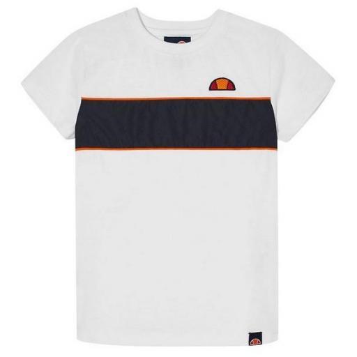 ELLESSE Camiseta Zabaglione Kids Tee White