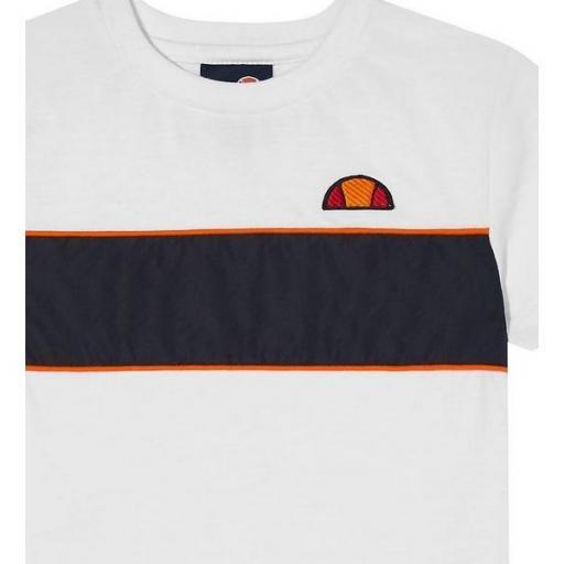 ELLESSE Camiseta Zabaglione Kids Tee White [1]