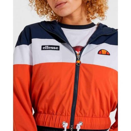 ELLESSE Chaqueta Sambry Ladies Top Dark Orange [3]