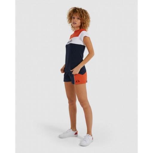 ELLESSE Pantalón Stripe Ladies Short Navy [1]