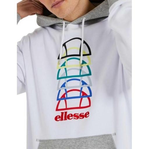 ELLESSE Sudadera Ando Hoody White [2]