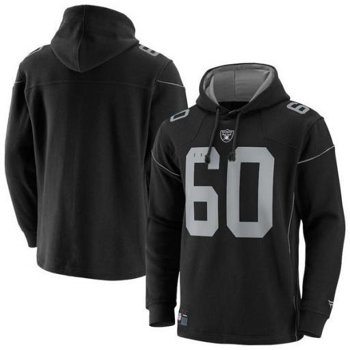 FANATICS Sudadera NFL Las Vegas Raiders Franchise Overhead Hoodie Black