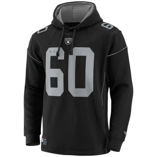 FANATICS Sudadera NFL Las Vegas Raiders Franchise Overhead Hoodie Black [1]
