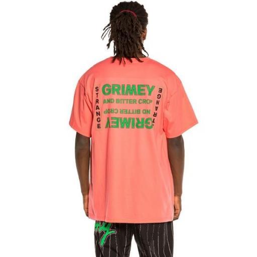 GRIMEY Camiseta Bitter Crop Tee Coral [1]