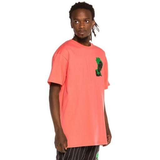 GRIMEY Camiseta Bitter Crop Tee Coral [2]