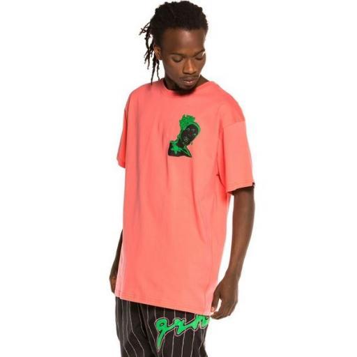 GRIMEY Camiseta Bitter Crop Tee Coral [3]