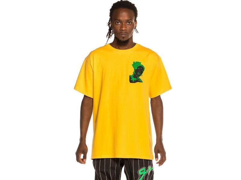 GRIMEY Camiseta Bitter Crop Tee Yellow