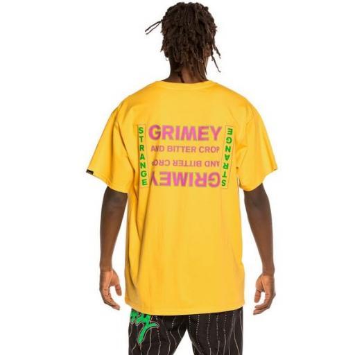 GRIMEY Camiseta Bitter Crop Tee Yellow [1]