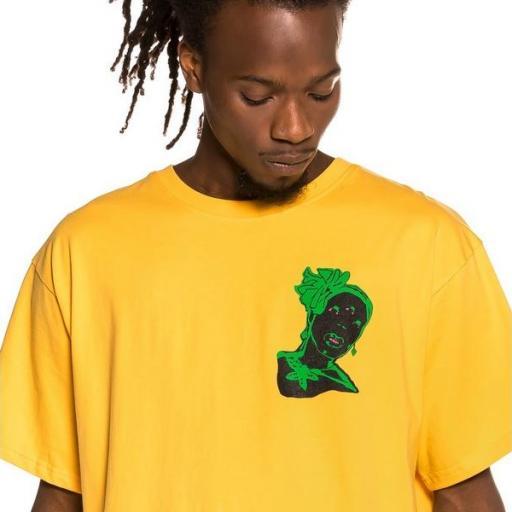 GRIMEY Camiseta Bitter Crop Tee Yellow [2]