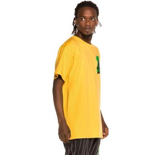 GRIMEY Camiseta Bitter Crop Tee Yellow [3]