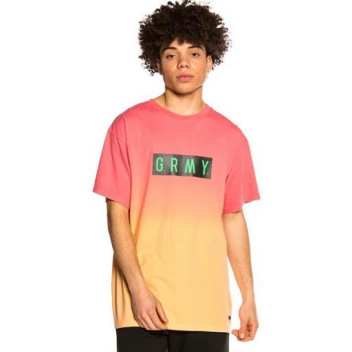 GRIMEY Camiseta Frenzy Gradient Pink [0]