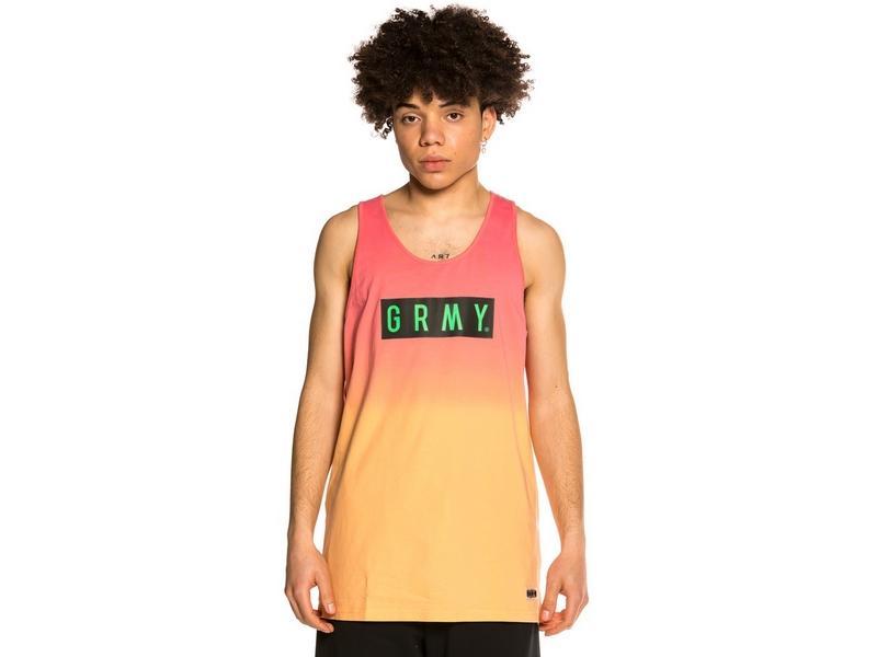 GRIMEY Camiseta Frenzy Gradient Tank Top Green