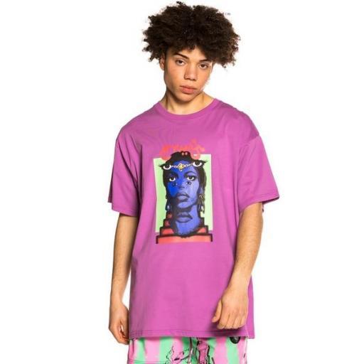 GRIMEY Camiseta High Priestess Tee Dark Purple