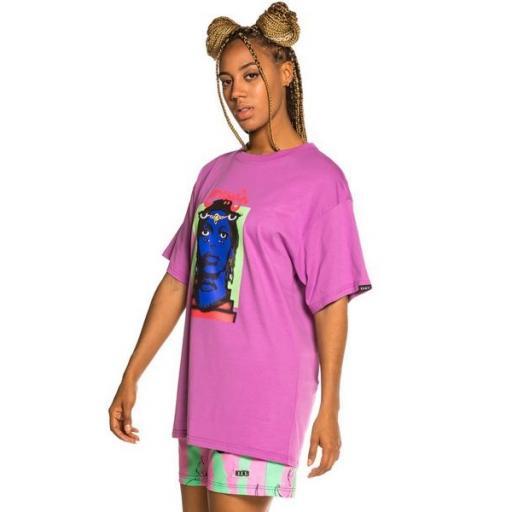 GRIMEY Camiseta High Priestess Tee Dark Purple [2]