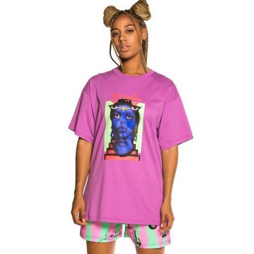 GRIMEY Camiseta High Priestess Tee Dark Purple [3]