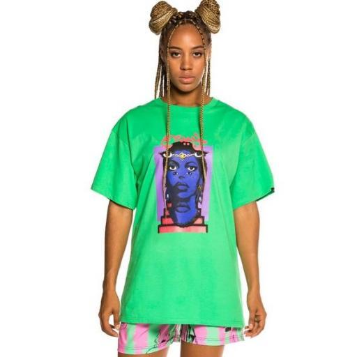 GRIMEY Camiseta High Priestess Tee Green [2]