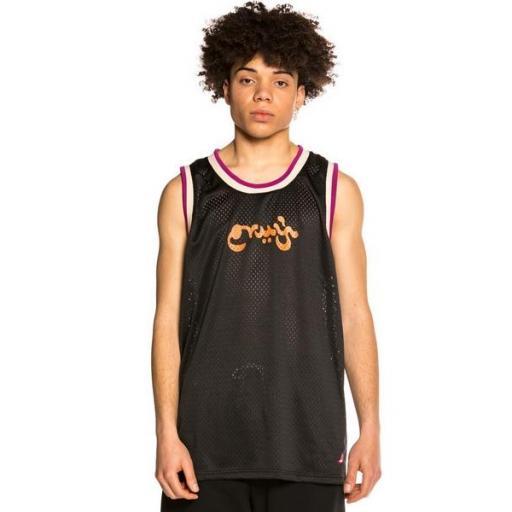 GRIMEY Camiseta Hope Unseen Mesh Tank Top Black