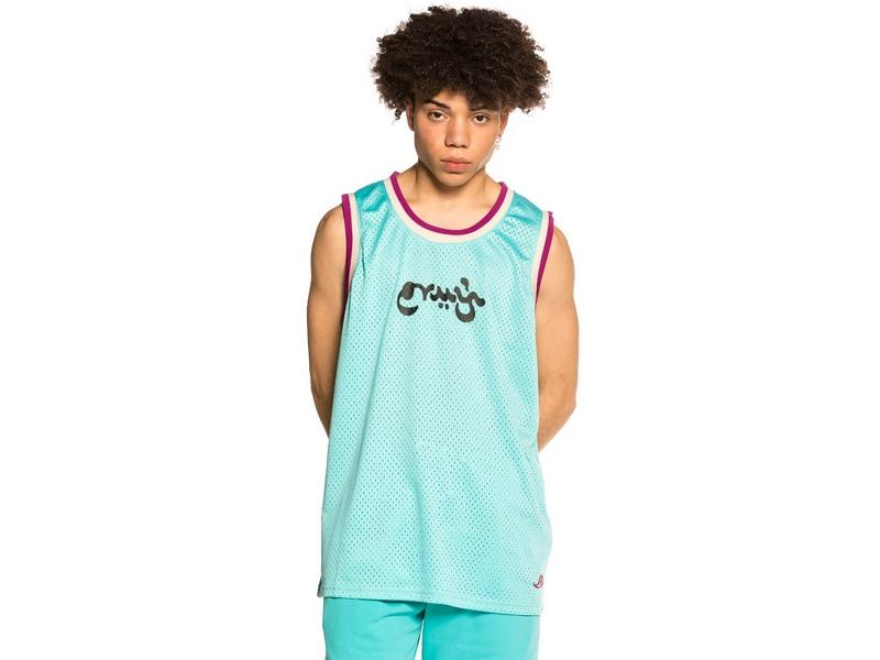 GRIMEY Camiseta Hope Unseen Mesh Tank Top Blue