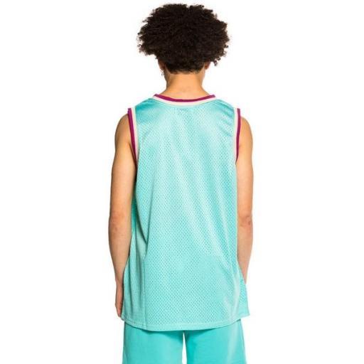 GRIMEY Camiseta Hope Unseen Mesh Tank Top Blue [1]