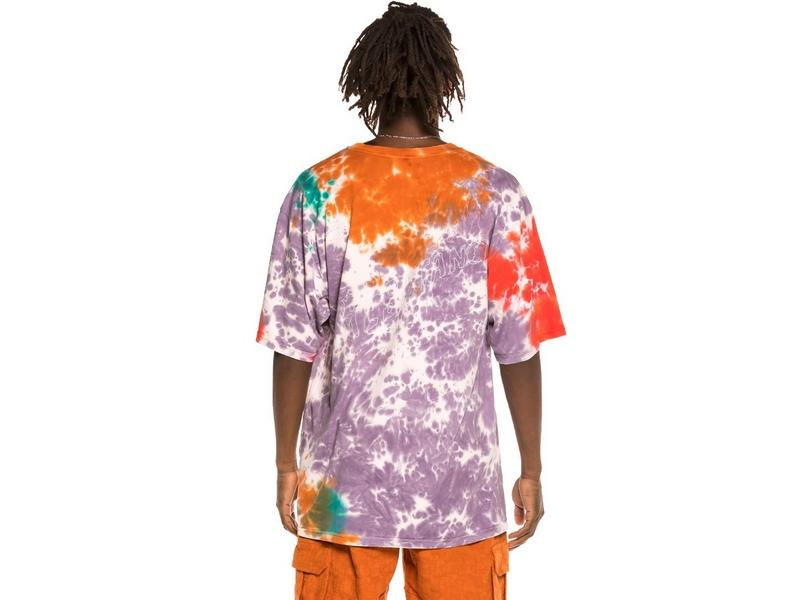 GRIMEY Camiseta Liveution Magic 4 Resistance Tee Tie Dye
