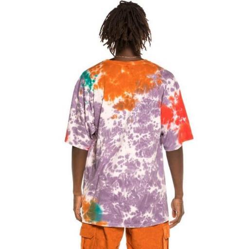 GRIMEY Camiseta Liveution Magic 4 Resistance Tee Tie Dye [0]