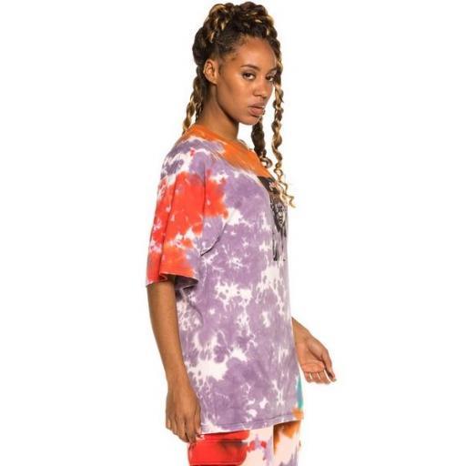 GRIMEY Camiseta Liveution Magic 4 Resistance Tee Tie Dye [3]