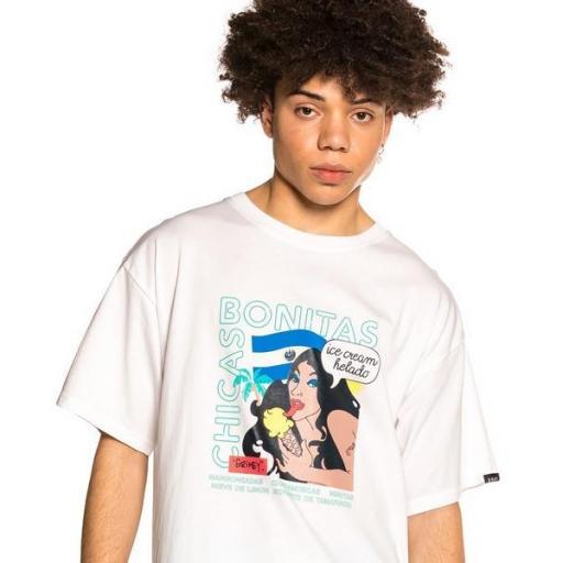 GRIMEY Camiseta Pupuseria Tee White [1]