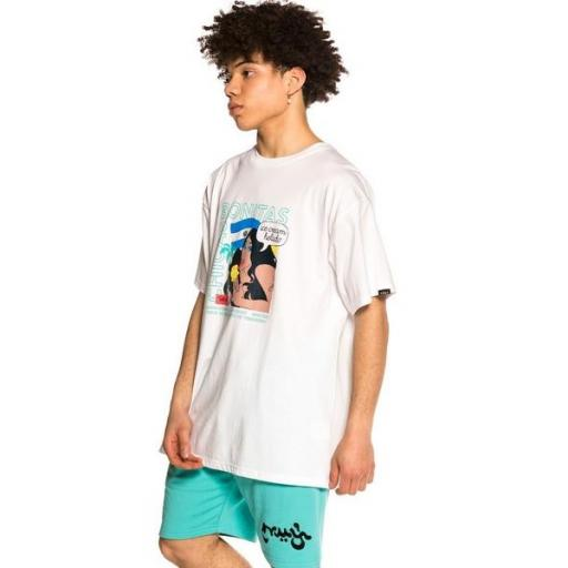 GRIMEY Camiseta Pupuseria Tee White [3]