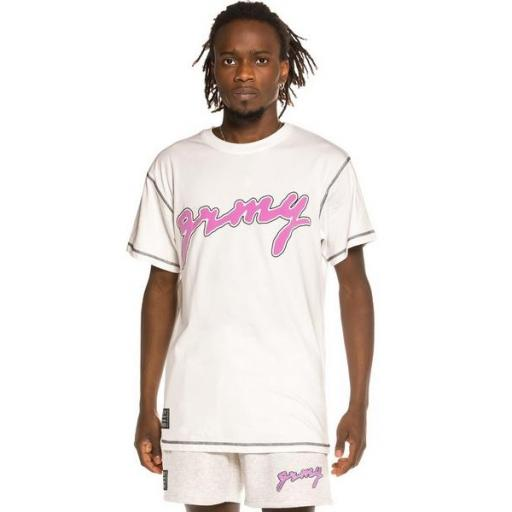 GRIMEY Camiseta Strange Fruit White