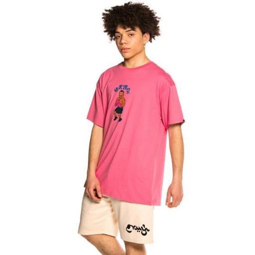 GRIMEY Camiseta The Beatdown Tee Purple [1]
