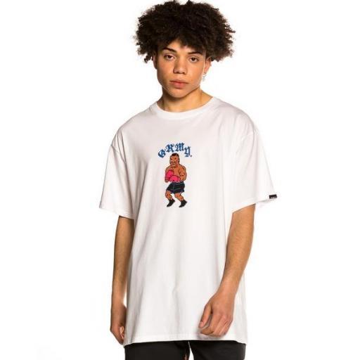 GRIMEY Camiseta The Beatdown Tee White