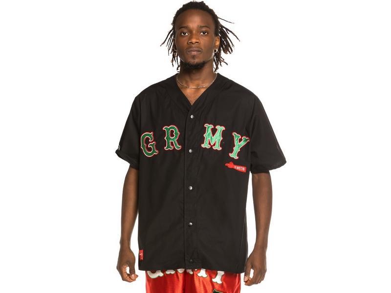 GRIMEY Camiseta The Loot Baseball Black