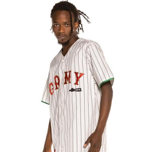 GRIMEY Camiseta The Loot El Botin Baseball White [2]