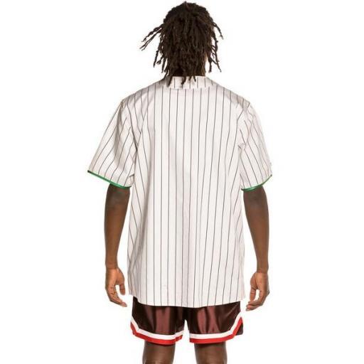 GRIMEY Camiseta The Loot El Botin Baseball White [3]