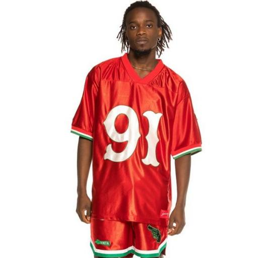 GRIMEY Camiseta The Loot Football Jersey Red
