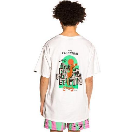 GRIMEY Camiseta Visit Jericho Tee White [0]