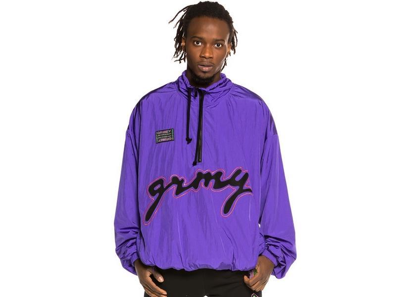 GRIMEY Chubasquero Strange Fruit Raincoat Purple