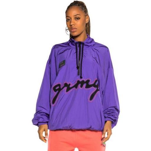 GRIMEY Chubasquero Strange Fruit Raincoat Purple [2]