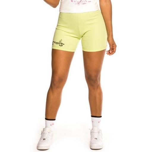 GRIMEY Legging Hope Unseen Girl Short Green [1]