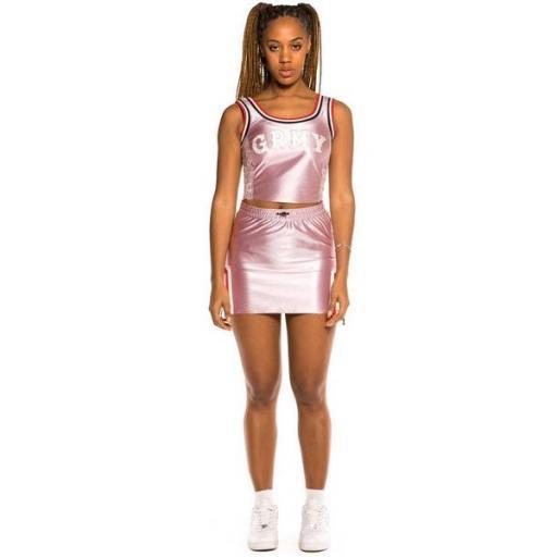 GRIMEY Mini falda The Loot Girl Skirt Pink [1]