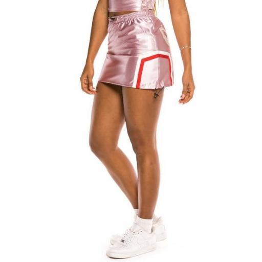 GRIMEY Mini falda The Loot Girl Skirt Pink [2]