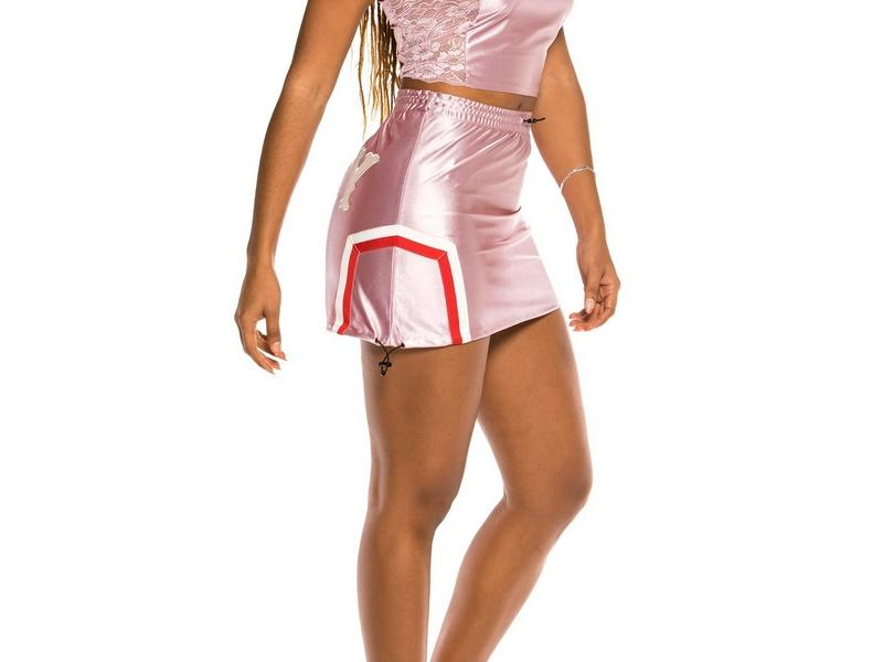 GRIMEY Mini falda The Loot Girl Skirt Pink