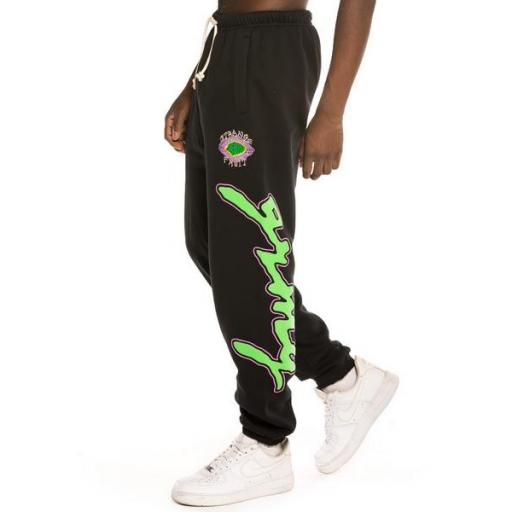 GRIMEY Pantalón Strange Fruit Sweatpants Black