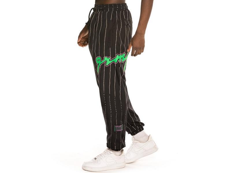 GRIMEY Pantalón Strange Fruit Track Pants Black