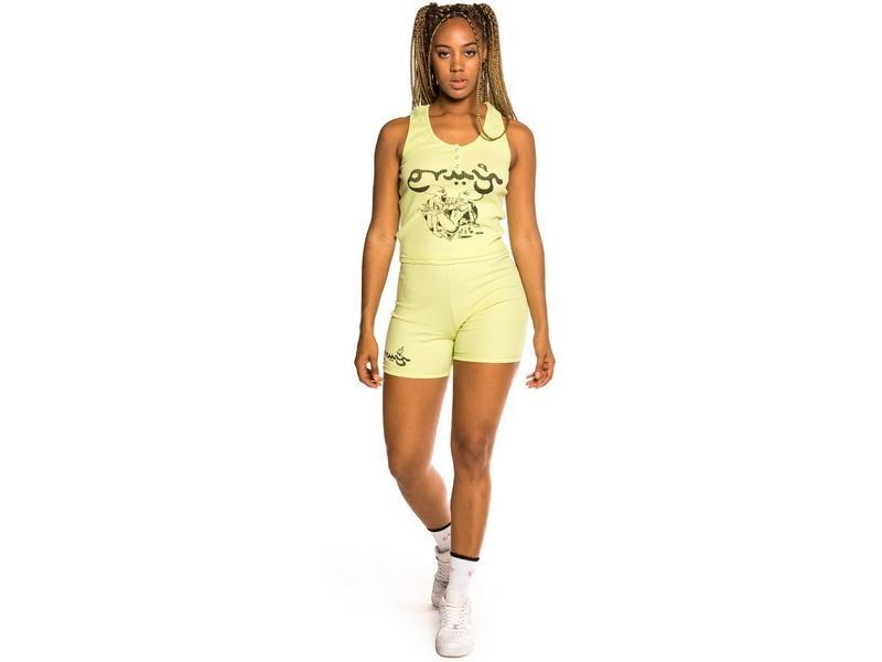 GRIMEY Top Hope Unseen Girl Cotton Top Green