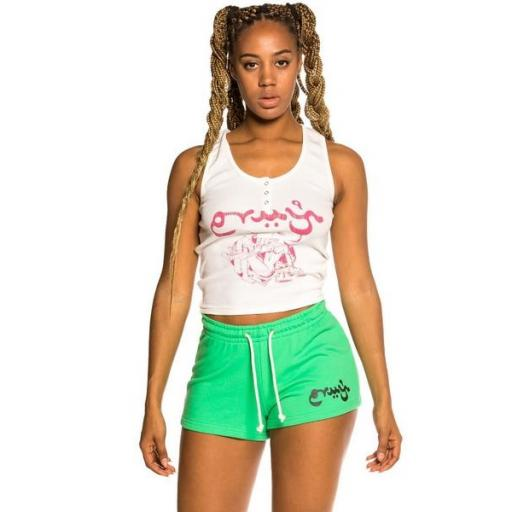 GRIMEY Top Hope Unseen Girl Cotton Top White