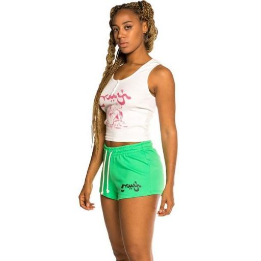 GRIMEY Top Hope Unseen Girl Cotton Top White [2]