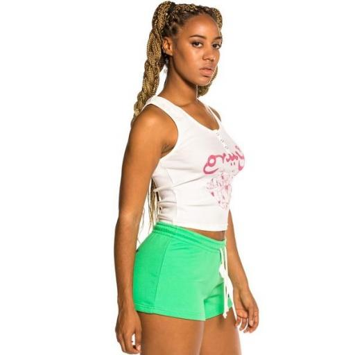 GRIMEY Top Hope Unseen Girl Cotton Top White [3]